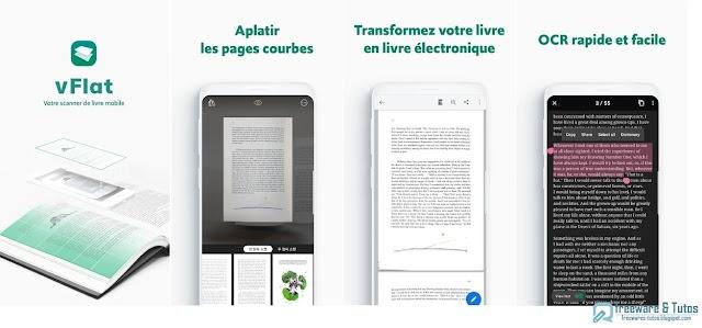 vFlat Scan : une application Android pratique pour numériser les livres