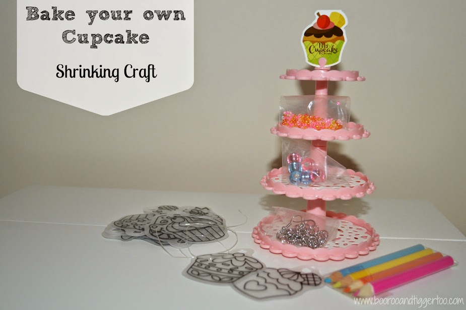 Bake Your Own Cupcake Shrinking Craft