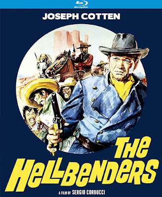Cover art for Kino Lorber's Special Edition Blu-ray of THE HELLBENDERS!