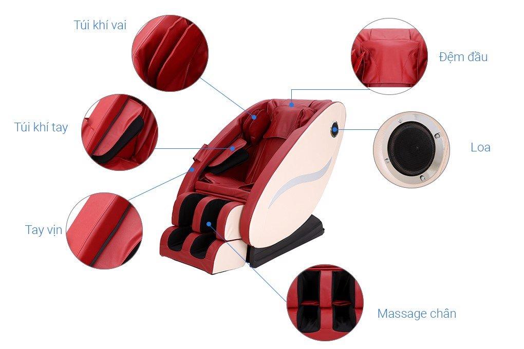 Ghế massage cao cấp MK119 Mishio