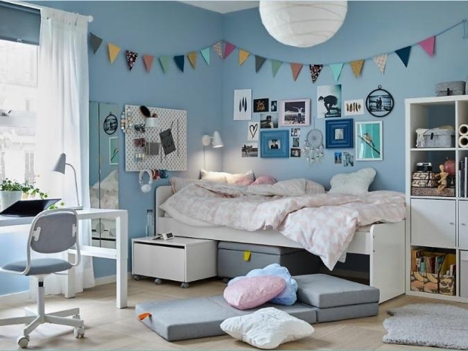 Dormitorios que crecen con los niños