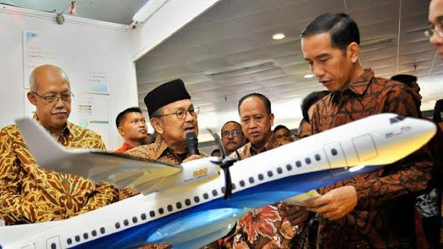 Pemerintah Hapus Pengembangan Pesawat Habibie R80 dari Proyek Strategis