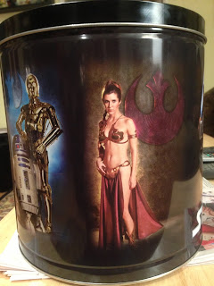 Star Wars popcorn tin