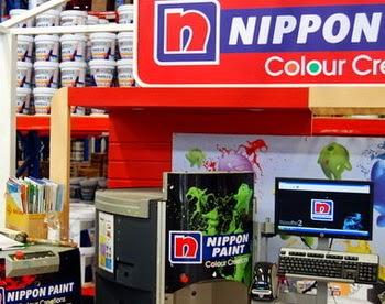 Toko Produk Nippon Paint di Jakarta Timur