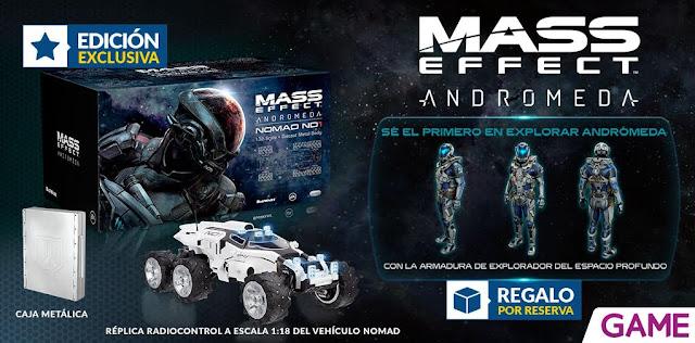 ¡No te pierdas la edición Nomad RC de Mass Effect Andromeda exclusiva de GAME! 1