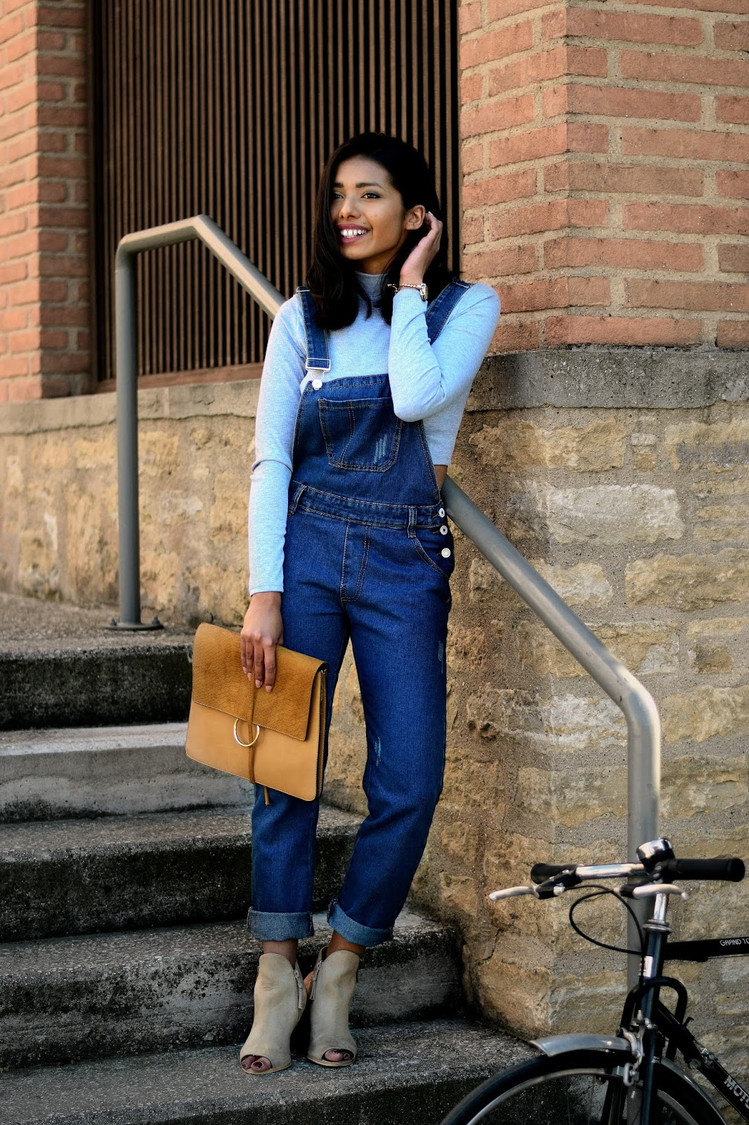 dungarees outfit ideas