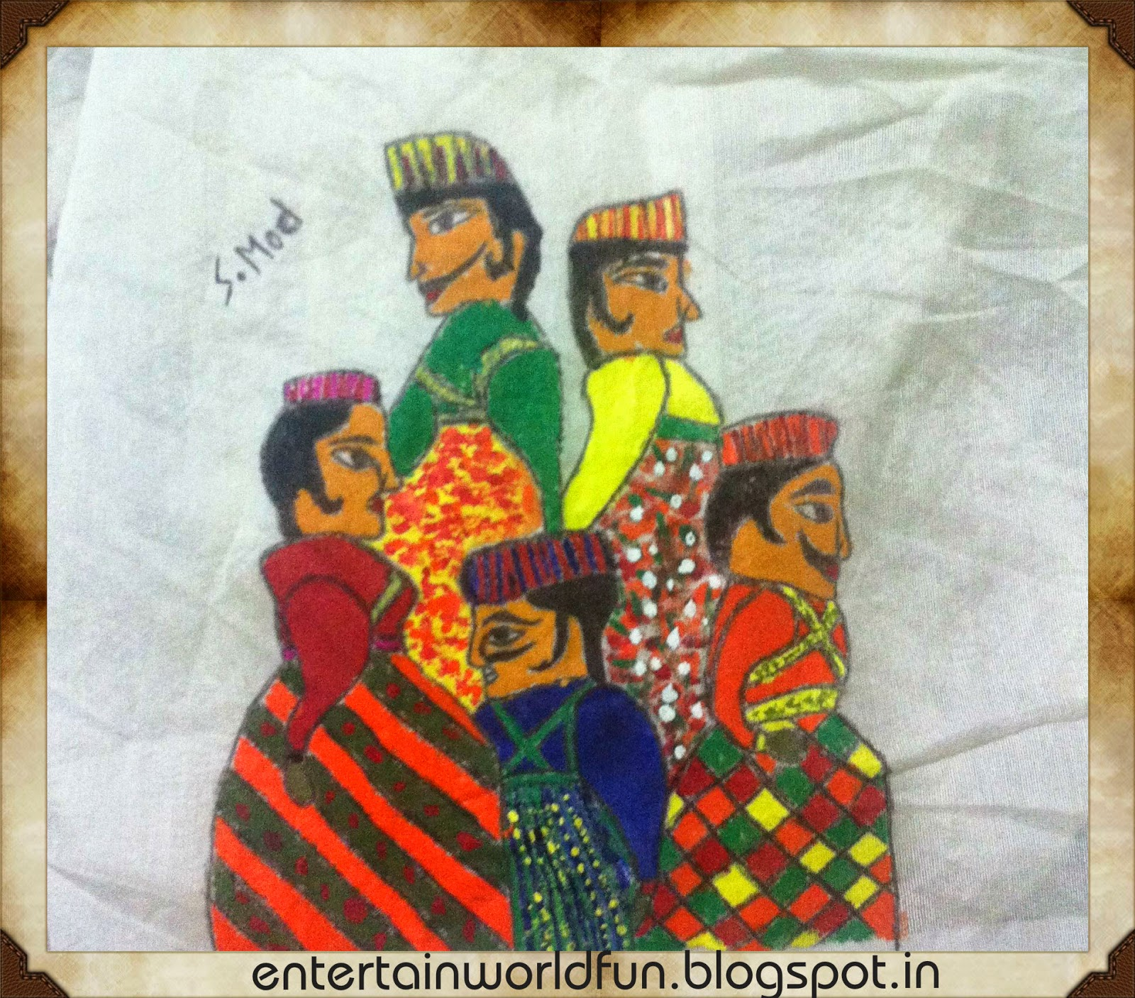 Best Fabric Painting On Cloth