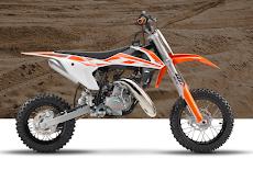 Spesifikasi KTM 50 SX 2017 Khusus untuk Pemula Usia Dini