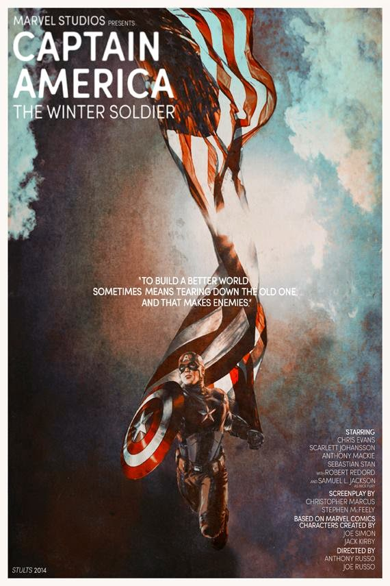 Fashion and Action: Captain America: The Winter Soldier Inspired Fan Art