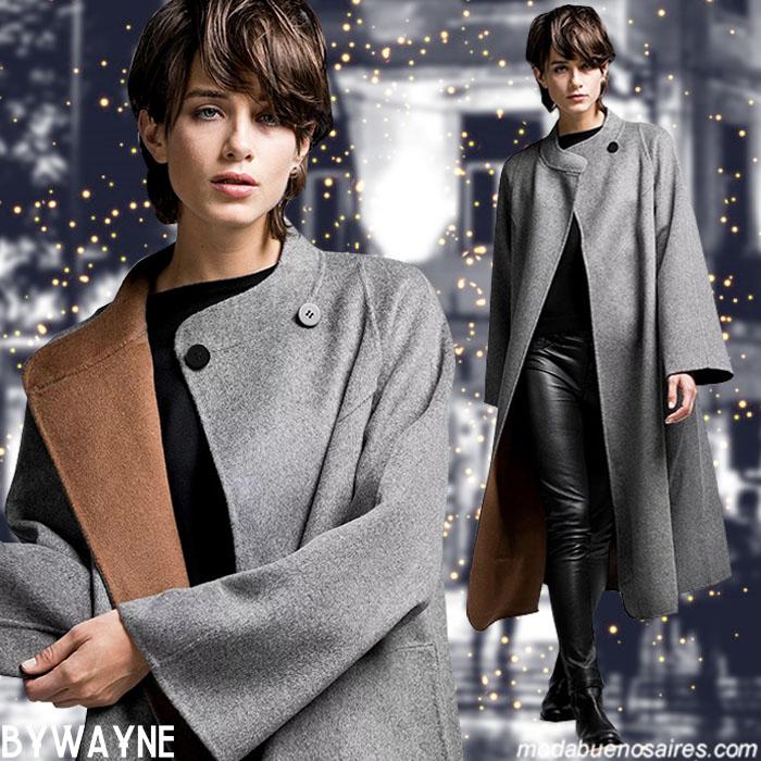 Moda otoño invierno 2019 tapados, sacos, chalescos y sweaters tejidos otoño invierno 2019.