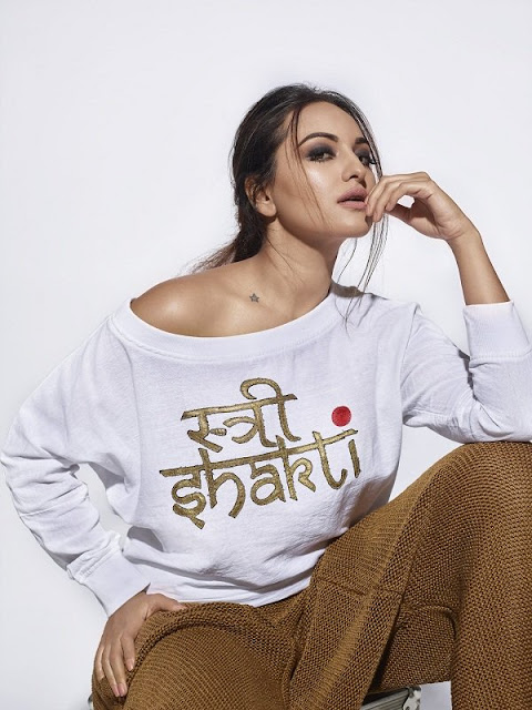 Sonakshi Sinha's photoshoot for women empowerment