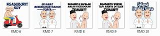 Desain Stiker Whatsapp Lucu Tentang Ramadhan