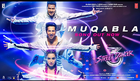 Varun Dhawan and Shraddha Kapoor's 'Muqabla' song lyrics Hindi from Street Dancer 3D song out lyrics