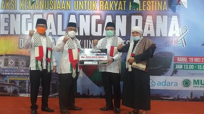 Walikota Donasikan Rp 200 Juta Untuk Palestina