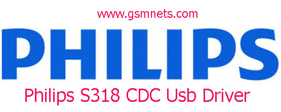Philips S318 CDC Usb Driver Download