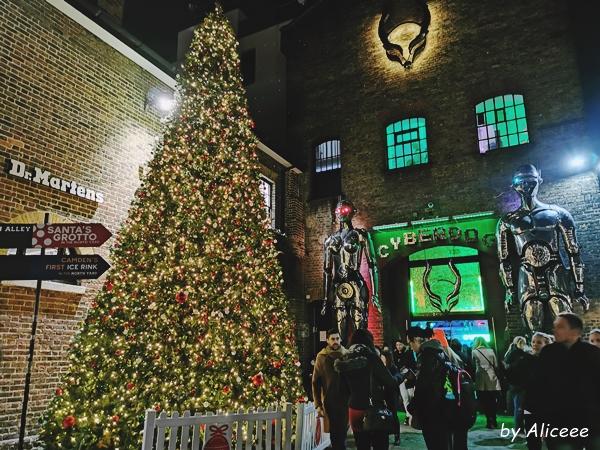 Camden-Town-iarna-targ-de-craciun-decembrie-Londra-Uk