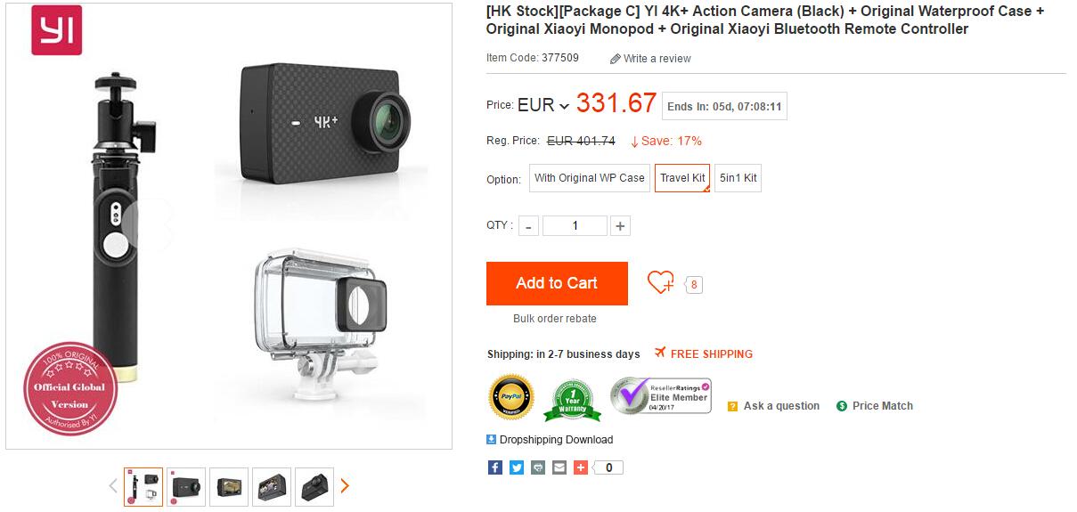 yi4kplus3 Xiaoyi YI 4K+ Action Camera in Stock Now - China Handy Forum