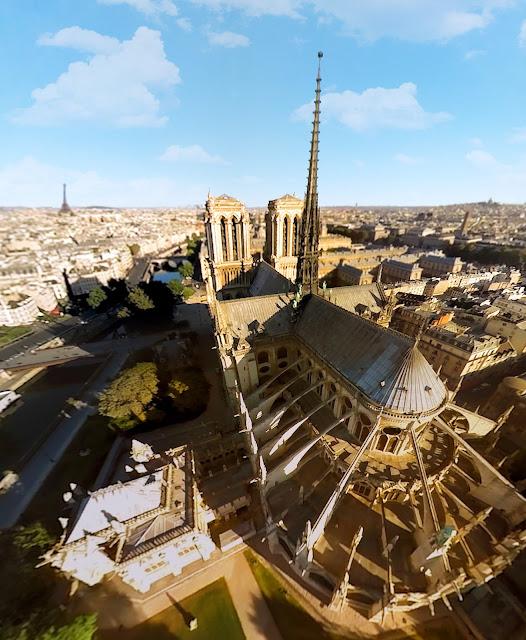 FlyViewParis - Notre Dame de Paris