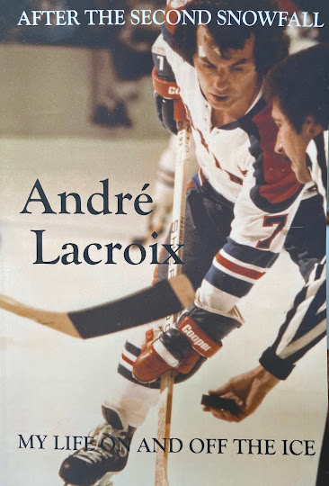Buy Hockey Legend Andre Lacroix's Autobiography Which Has Earned Our Highest Recommendation!