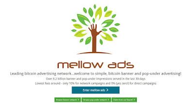Mellow Ads est une des plus célèbres régies publicitaires en Bitcoin