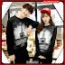 BJR021 Setelan E Baju Couple Paris Murah Grosir BMG