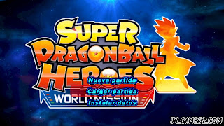 ISO LATINO SUPER DRAGON BALL HEROES PPSSPP DBZ TTT