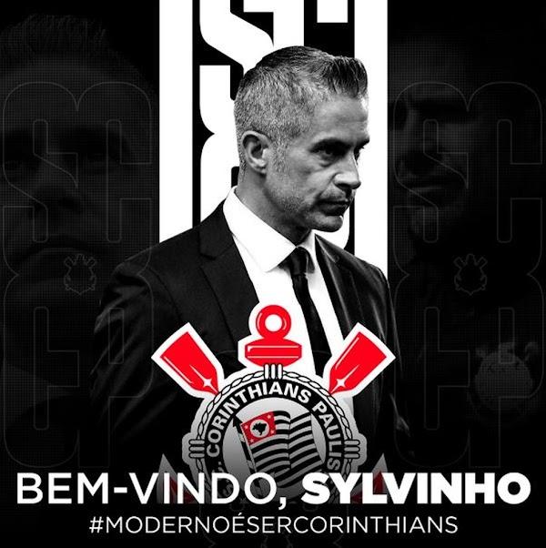Oficial: Corinthians, Sylvinho es nuevo entrenador
