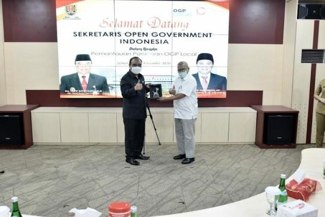 Pemkot Semarang Masuk Kategori Open Government
