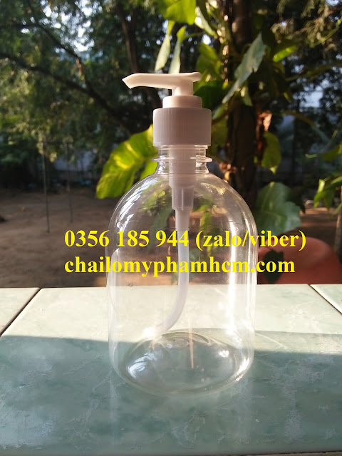 Chai nhựa ấn giọt