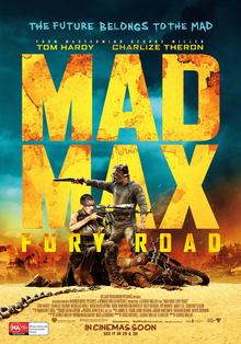 Mad Max Fury Road 2015 Dual Audio 480p 350MB ORG [Hindi - English] BluRay