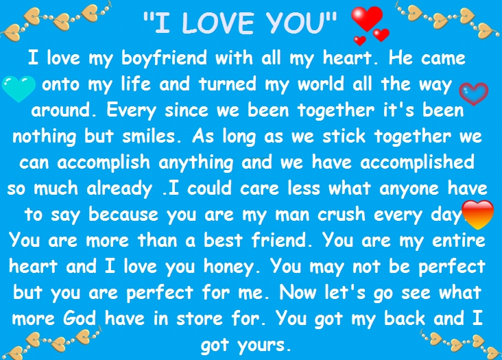 Cute paragraphs for your crush - I like you paragraphs for her