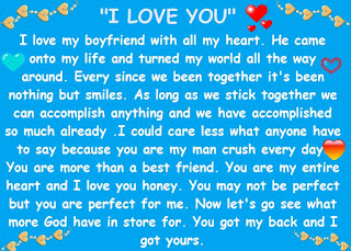 Cute paragraphs for your crush