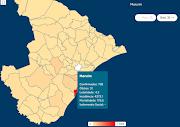 Sobe para 738 casos registrados de coronavírus em Maruim