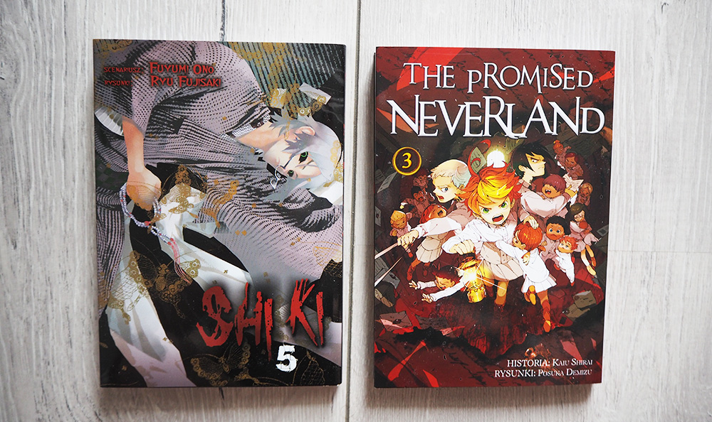 Shiki manga The promised neverland manga pl