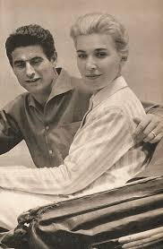 Edy Campagnoli, pictured with her husband, footballer Lorenzo Buffon