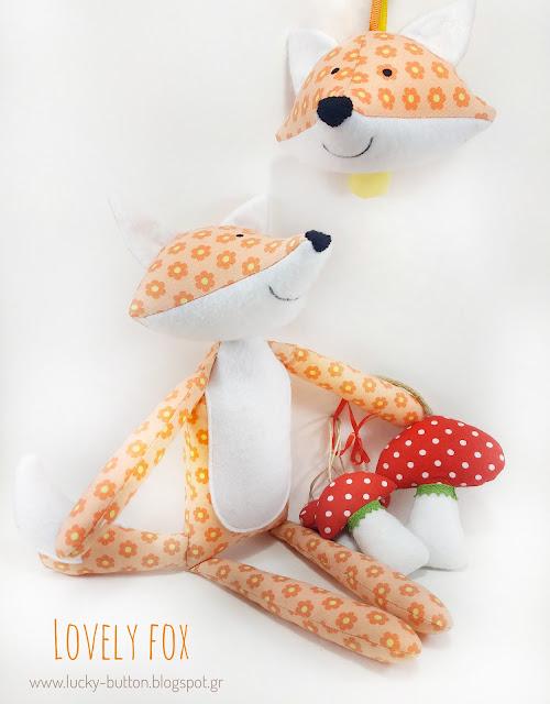 """Lovely Fox"" Η αλεπού με μανιτάρια, οι περιπέτειες του δάσος!"