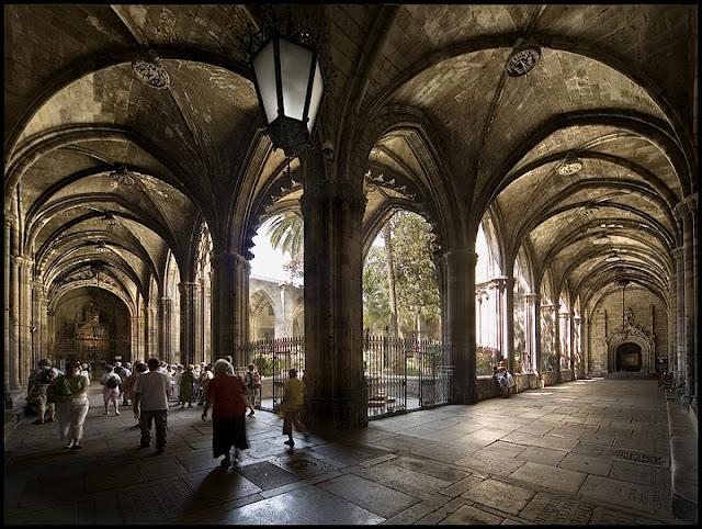 Claustro da Catedral de Barcelona
