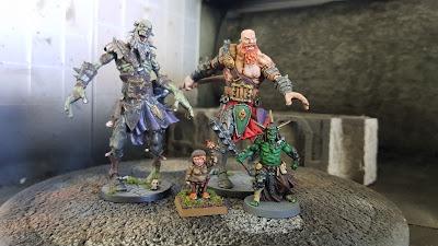 zombie giant, ttcombat halflings, massive darkness orc
