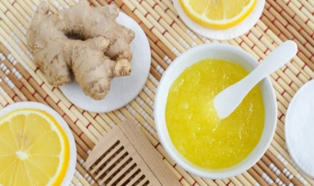 Ginger hair mask: Do not miss its benefits