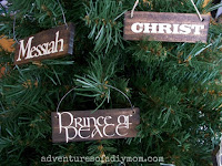 paint stick ornaments