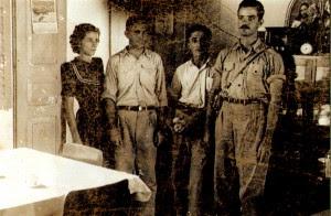 No Linhares Hotel. Linhares, ES, maio de 1950.