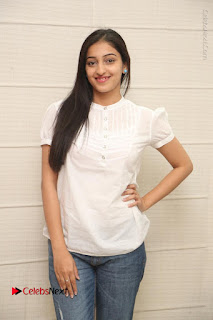Tollywood Telugu Actress Mouryaani Latest Stills in Ripped Jeans at Intlo Deyyam Nakem Bhayam Movie Interview  0038.JPG