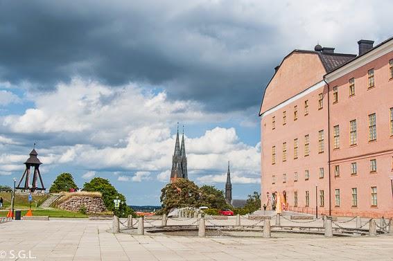 El castillo de Uppsala. Visitando Suecia: un dia en Uppsala