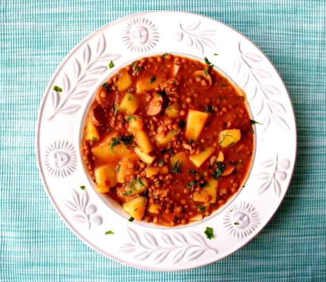 zupa z soczewicy, lenticchie,cucina italiana, zuppa per capodanno,sylwester,