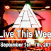 Live This Week: September 1st - 7th, 2019