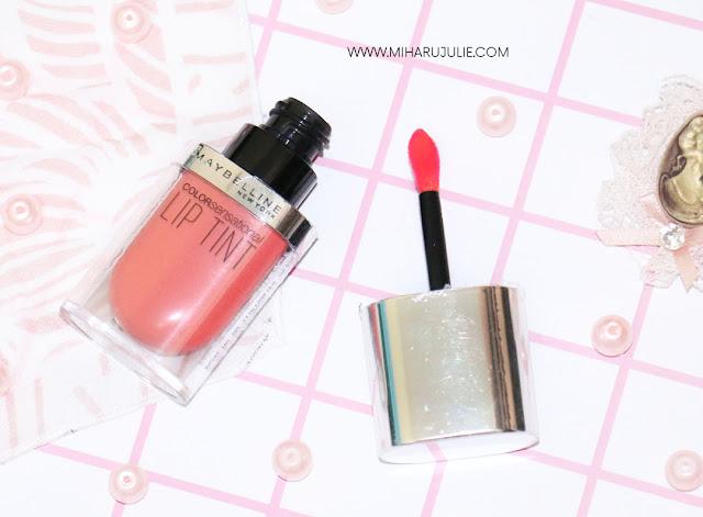 Maybelline Color Sensational Lip Tint review