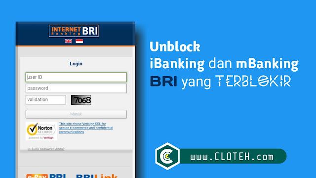 Cara buka blokir internet banking bri lewat android