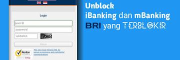 Cara Mudah Membuka Blokir Internet Banking BRI dan BRI Mobile, Bisa via HP!