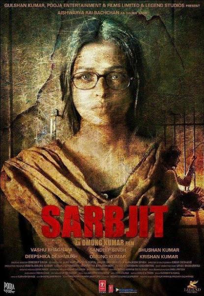 Poster of Sarabjit 2016 480p Hindi pDVDRip Full Movie Download