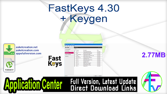 FastKeys 4.30 + Keygen